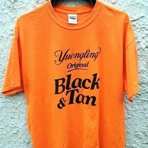 Yuengling Original Black And Tan Beer Shirt Medium